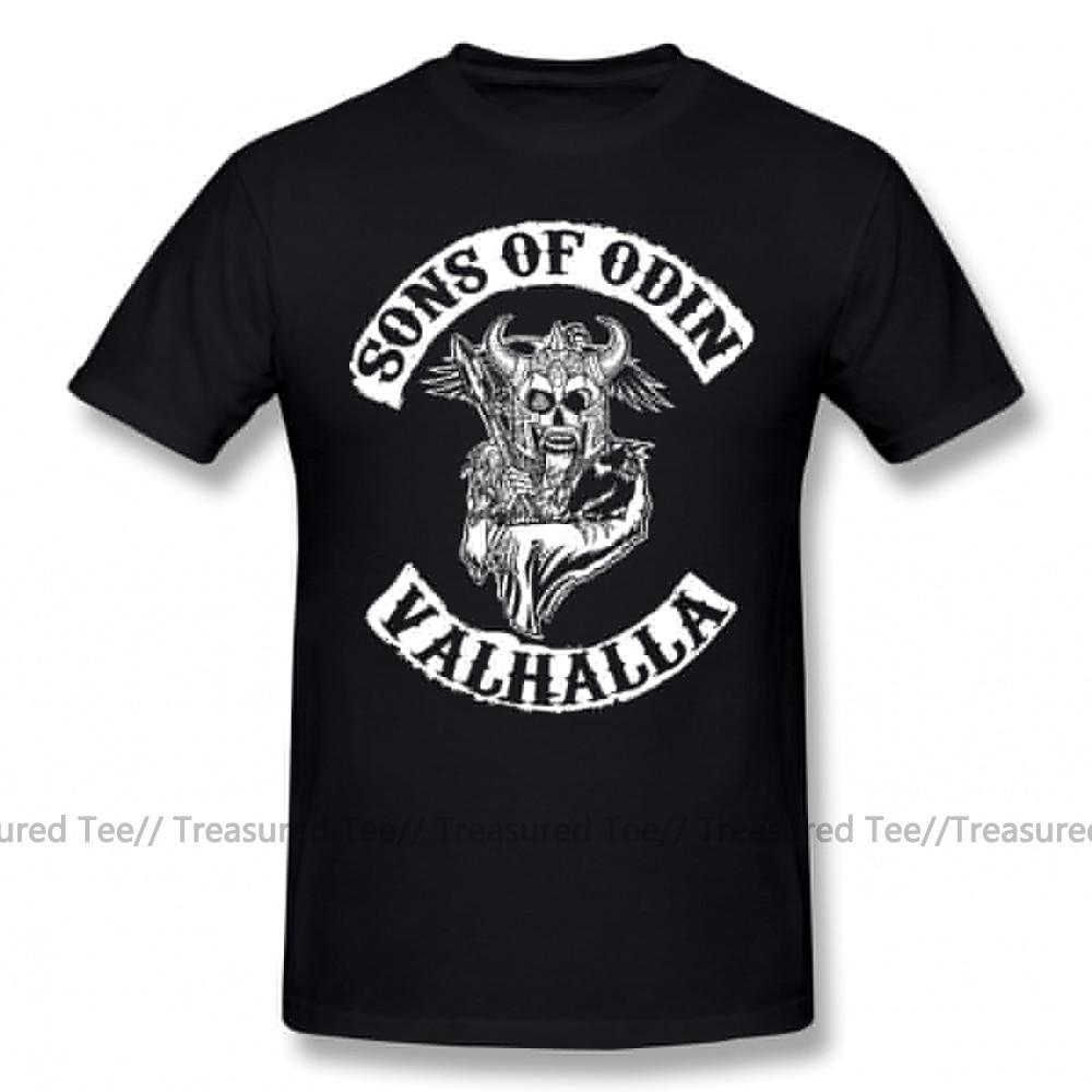 Jerry's Apparel Men Movie Tees Sons Of Odin Valhalla Chapter T-Shirt