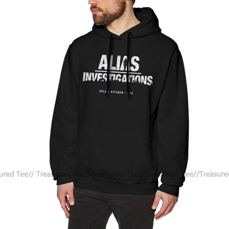 Jerry's Apparel Men's Sweatshirts Black / S Jessica Jones Hoodie