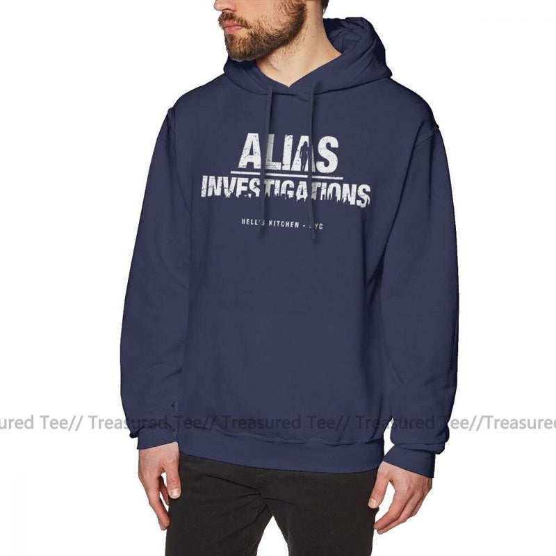 Jerry's Apparel Men's Sweatshirts Navy Blue / S Jessica Jones Hoodie