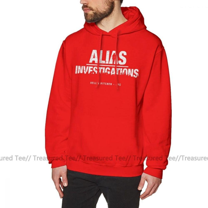 Jerry's Apparel Men's Sweatshirts Red / S Jessica Jones Hoodie