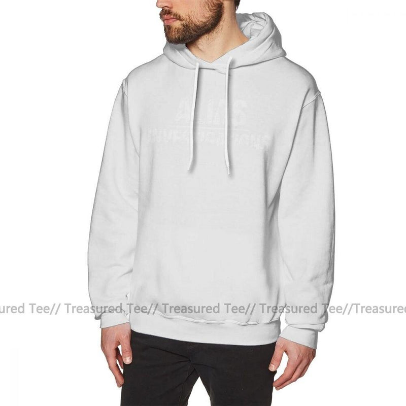 Jerry's Apparel Men's Sweatshirts White / S Jessica Jones Hoodie