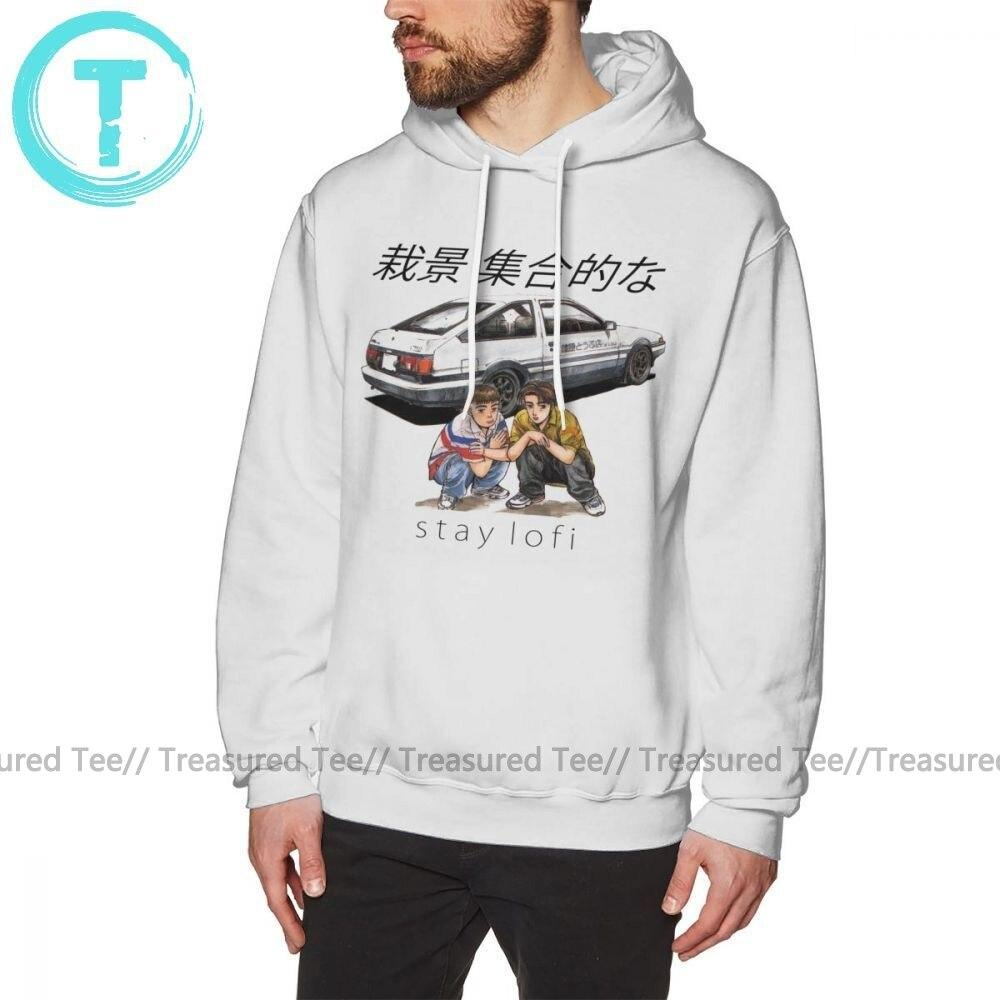 Jerry's Apparel Men Sweatshirts Initial D Hoodie