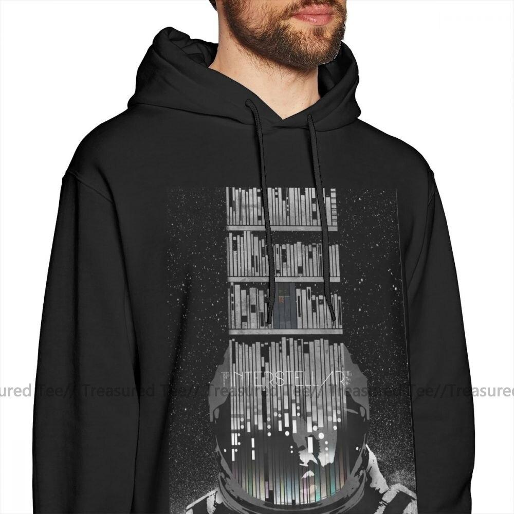Jerry's Apparel Men Sweatshirts Movie Interstellar Hoodie
