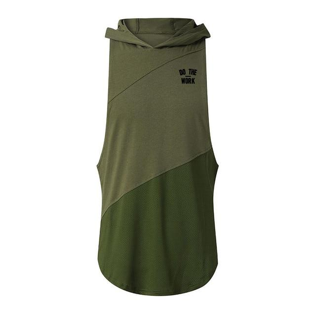 army green hooded