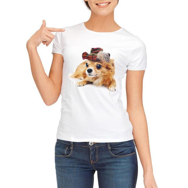 Jerry's Apparel Pet Tees 518 / S T Shirt Chihuahua dog Tee Shirt