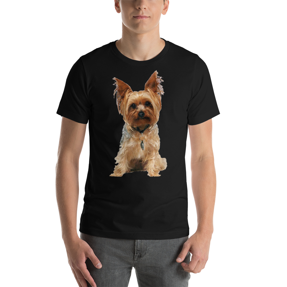 Jerry's Apparel Pet Tees Black / S Yorkshire Terrier T-Shirts