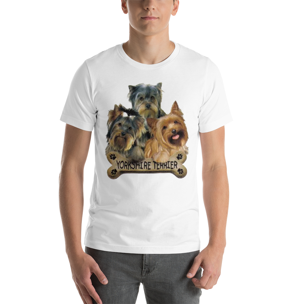 Jerry's Apparel Pet Tees White / S Yorkie T-Shirt