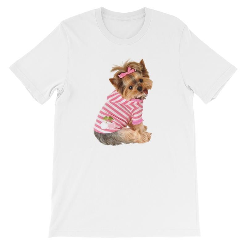 Jerry's Apparel Pet Tees White / S