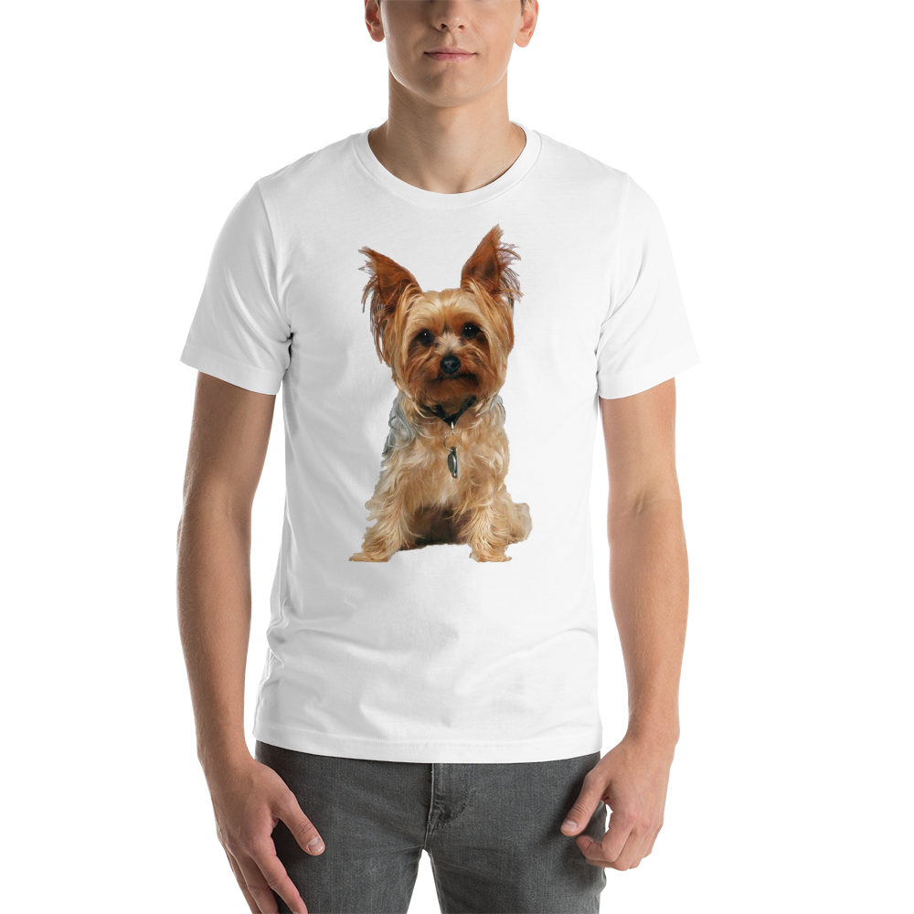 Jerry's Apparel Pet Tees White / S Yorkshire Terrier T-Shirts