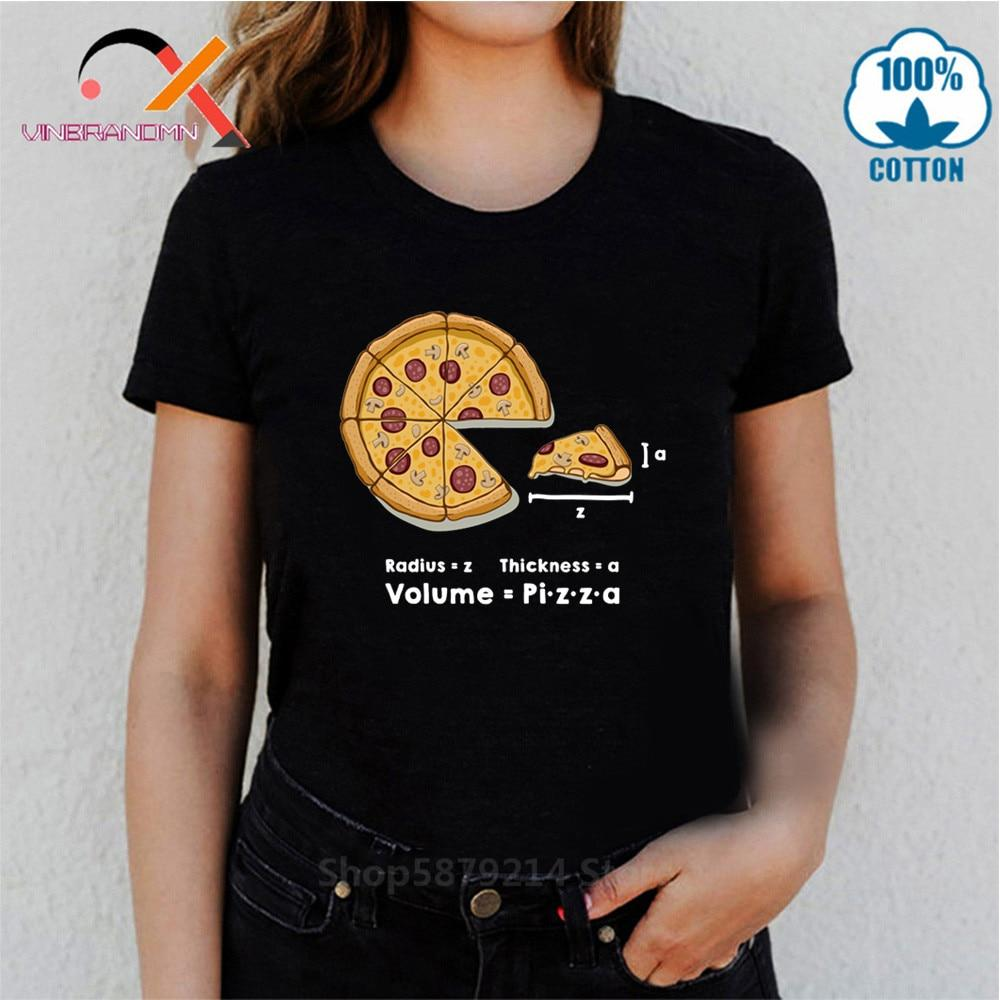 Jerry's Apparel Pizza T-shirts Funny Pizza formula T-shirts
