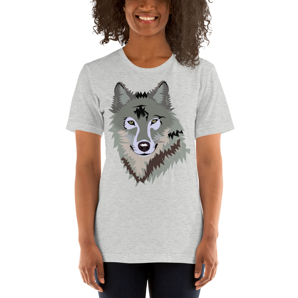 Short-Sleeve Unisex Wolf T-Shirt