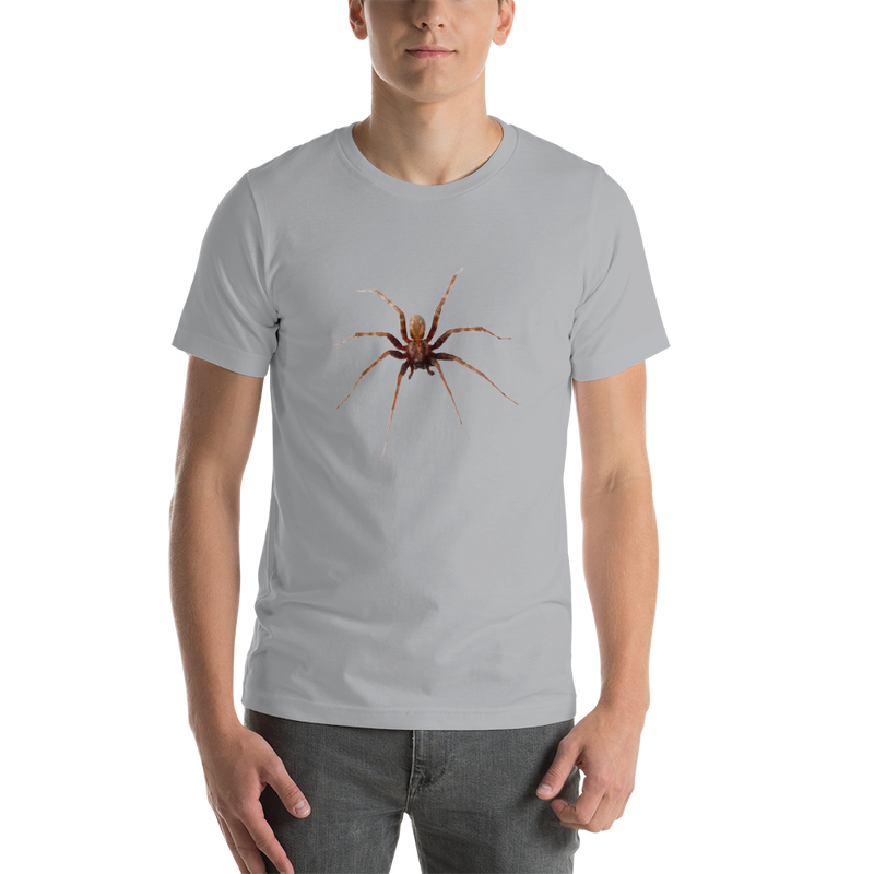 Jerry's Apparel Silver / S Spider Short-Sleeve Unisex T-Shirt