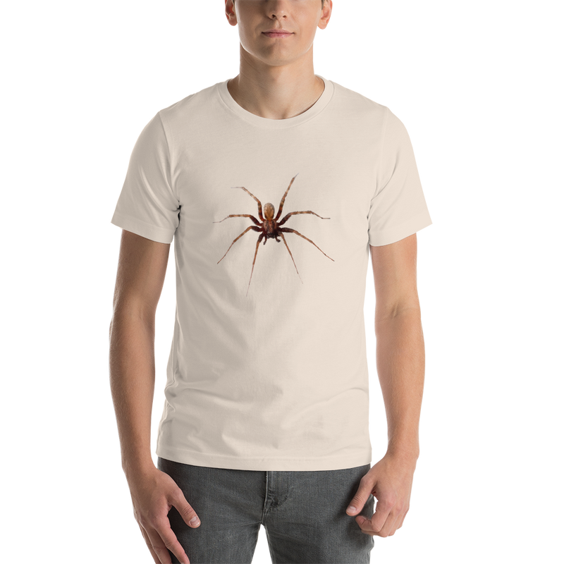 Jerry's Apparel Soft Cream / S Spider Short-Sleeve Unisex T-Shirt