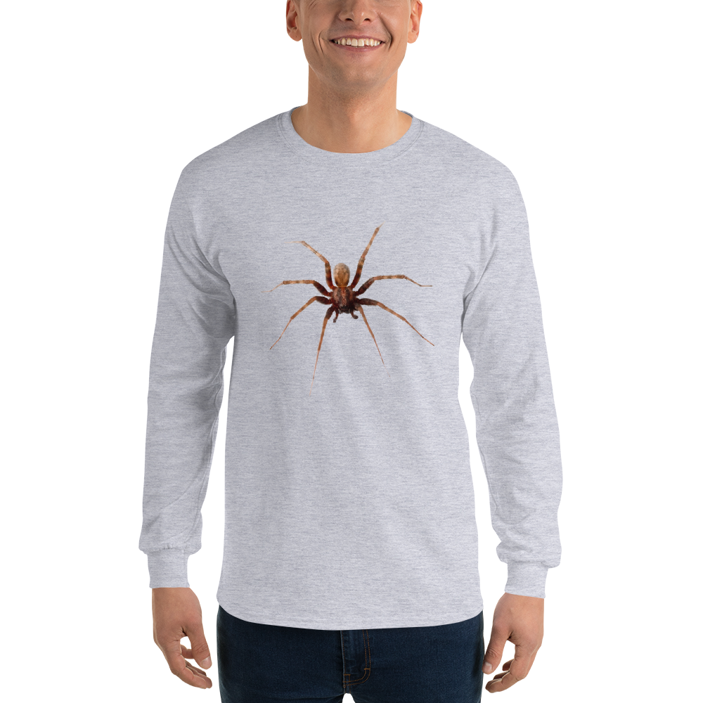 Men's Long Sleeve Spider T-Shirt