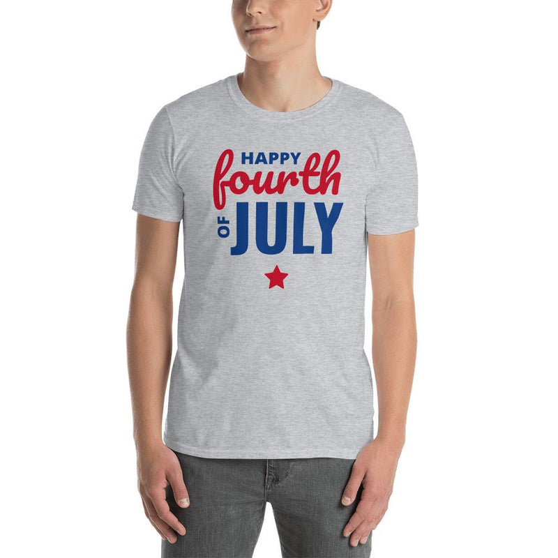 Men's T-Shirt Happy Fourth of July