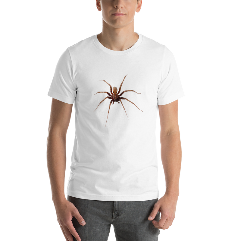 Jerry's Apparel White / S Spider Short-Sleeve Unisex T-Shirt