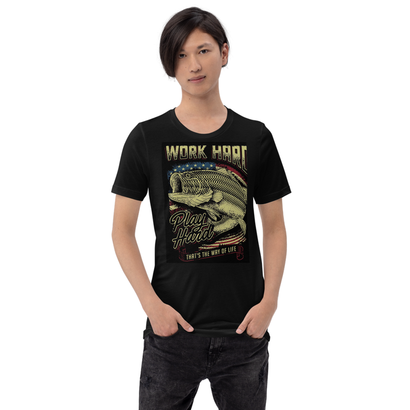 Work Hard Unisex T-Shirt