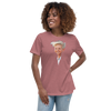 Jerry's Apparel Women's Caricature T-shirts Black / S Women's Relaxed Ellen DeGeneres T-Shirt