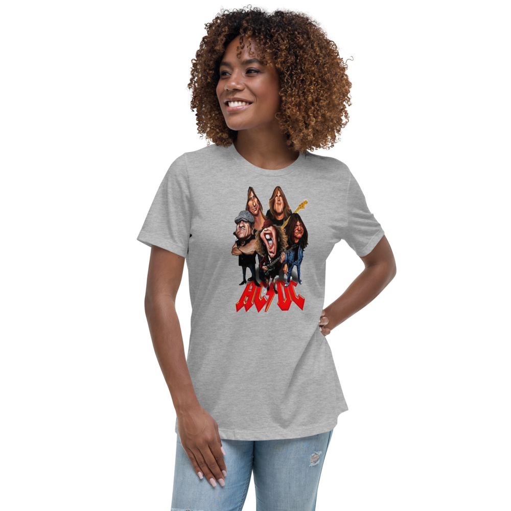 Women's Relaxed AC/DC T-Shirt
