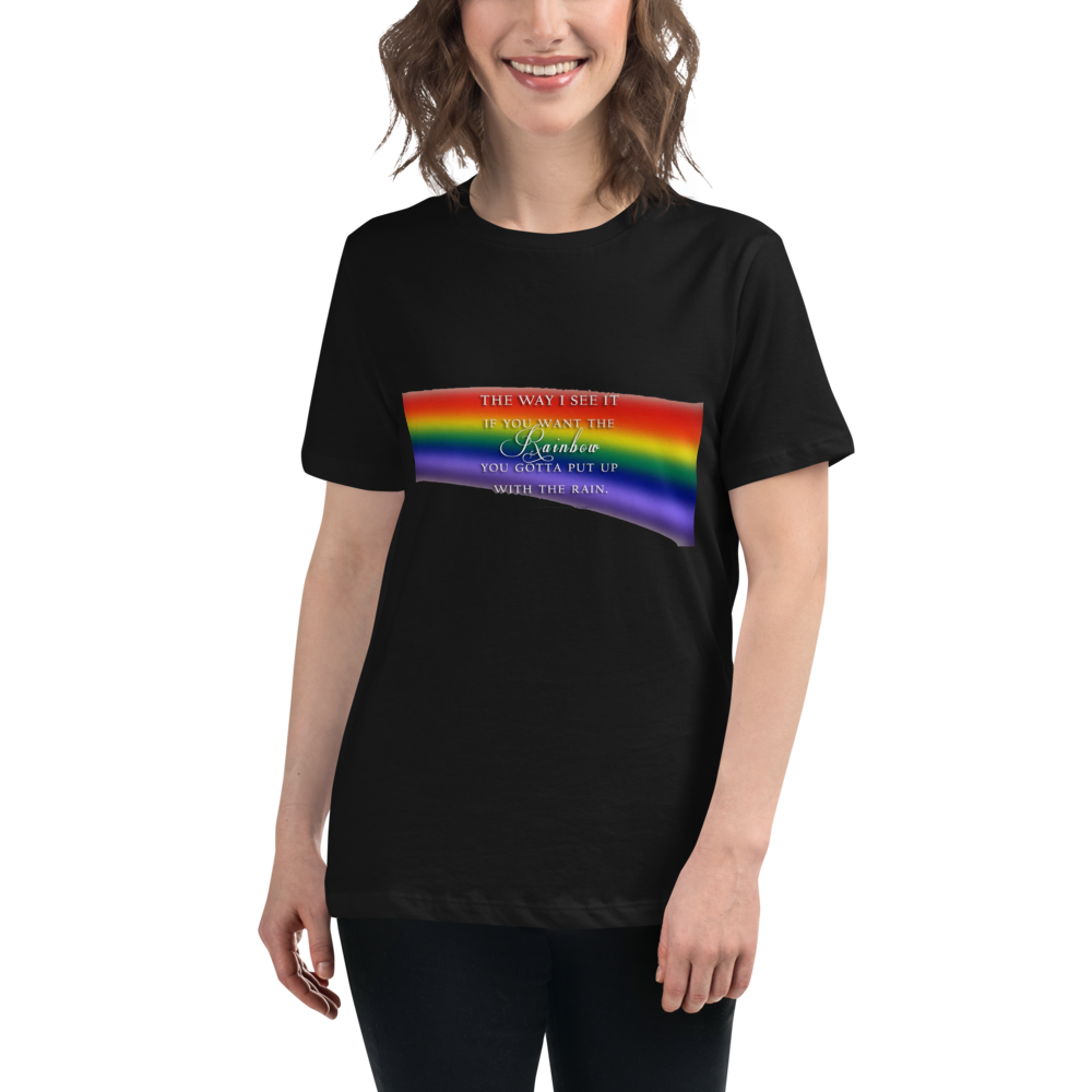 Jerry's Apparel Women T-Shirts Black / S The Way I See It T-Shirt