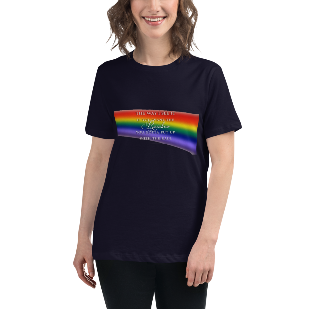 Jerry's Apparel Women T-Shirts Navy / S The Way I See It T-Shirt