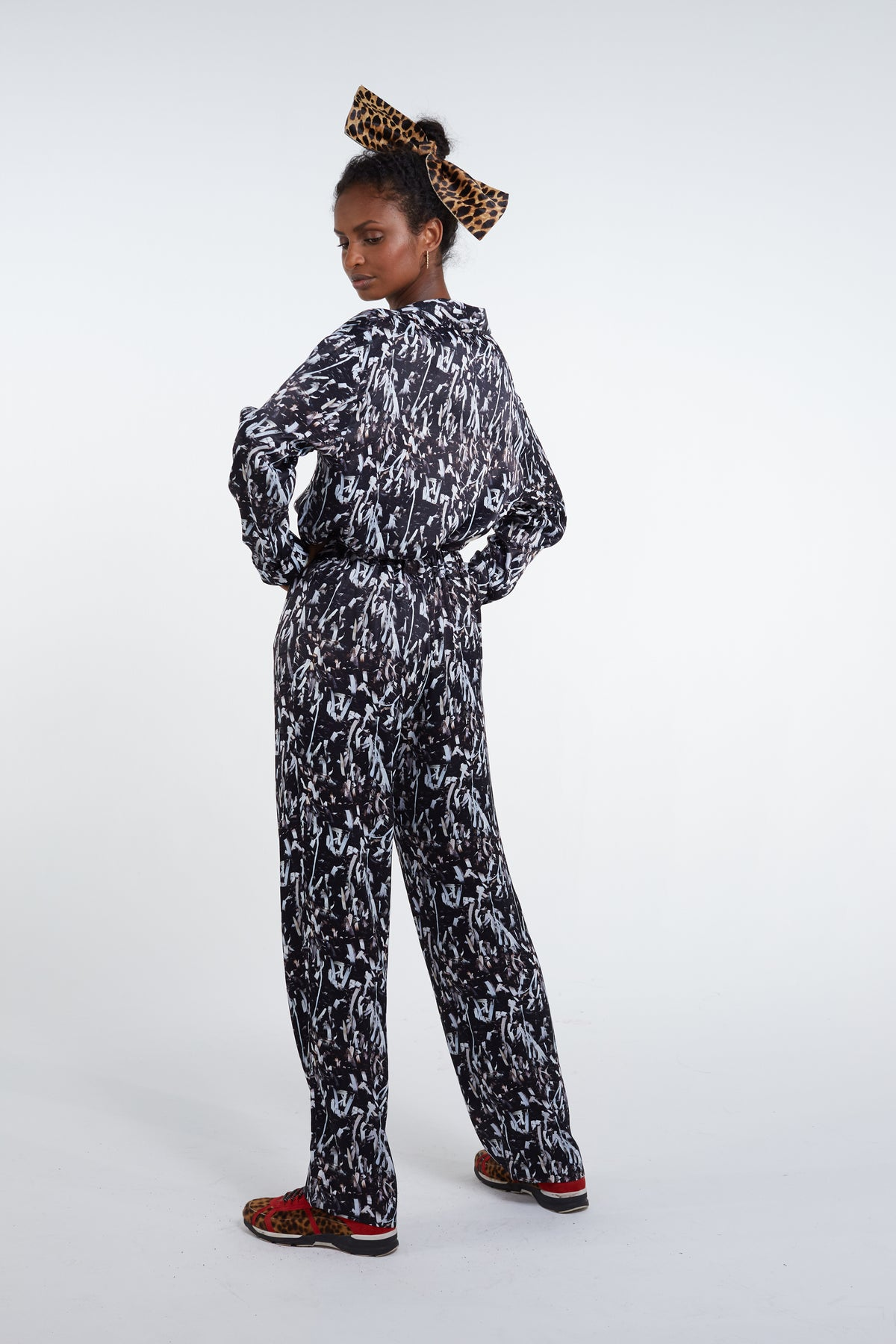 Ulysse Pyjama in papers print