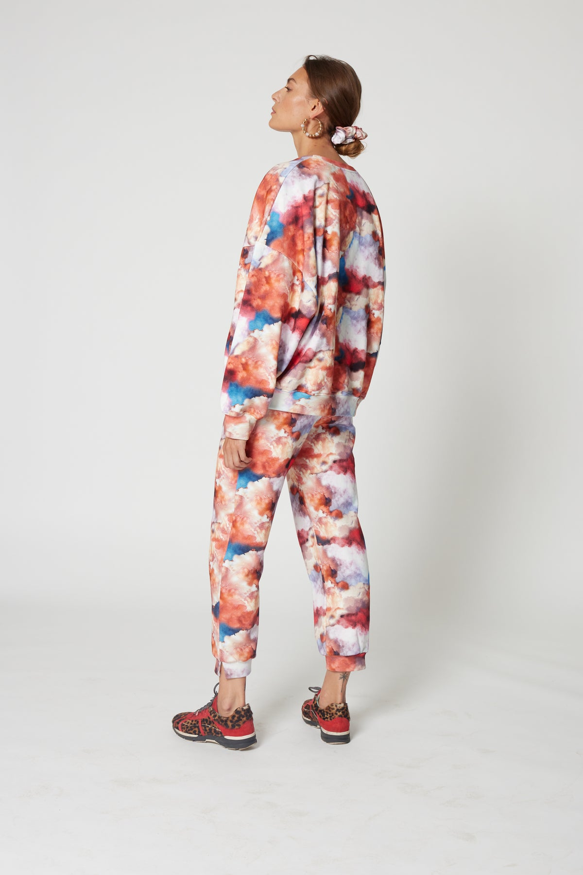 Melchior pants in Madone print