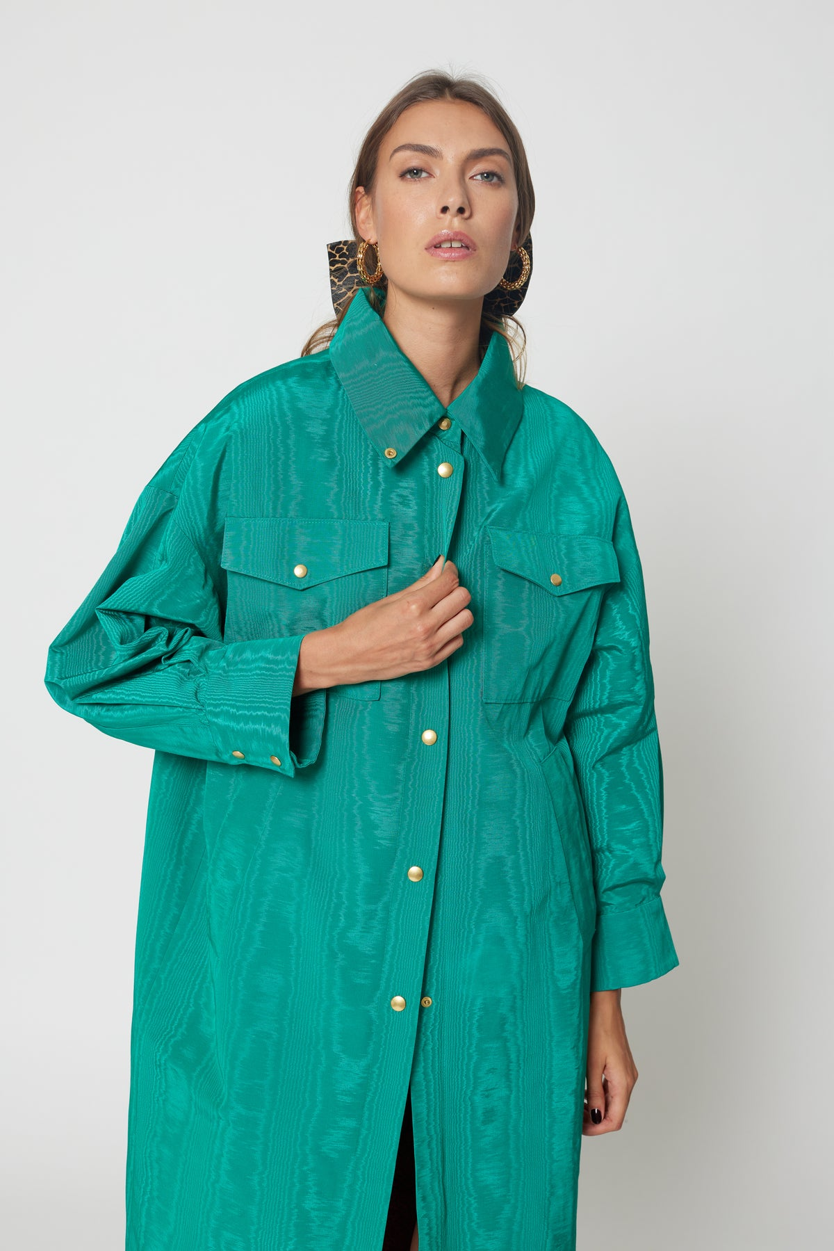 Marines XXL coat in moire green