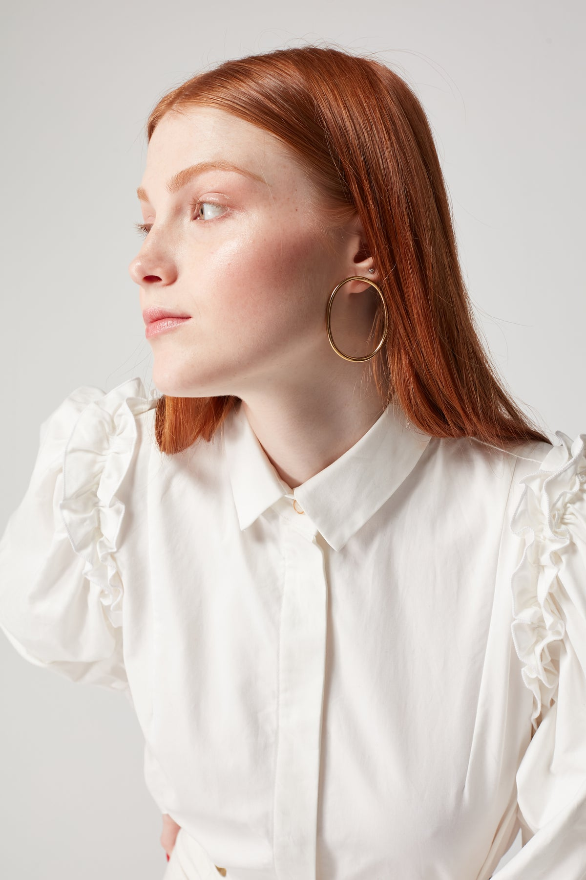 Imogen shirt in white