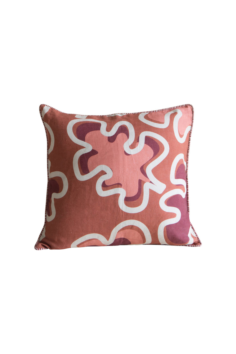 Heimstone x Gabrielle Paris - Cushion in XXL leaf print