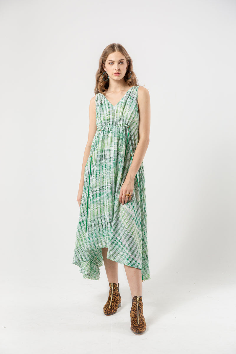 Scarlett dress in pampa weaving