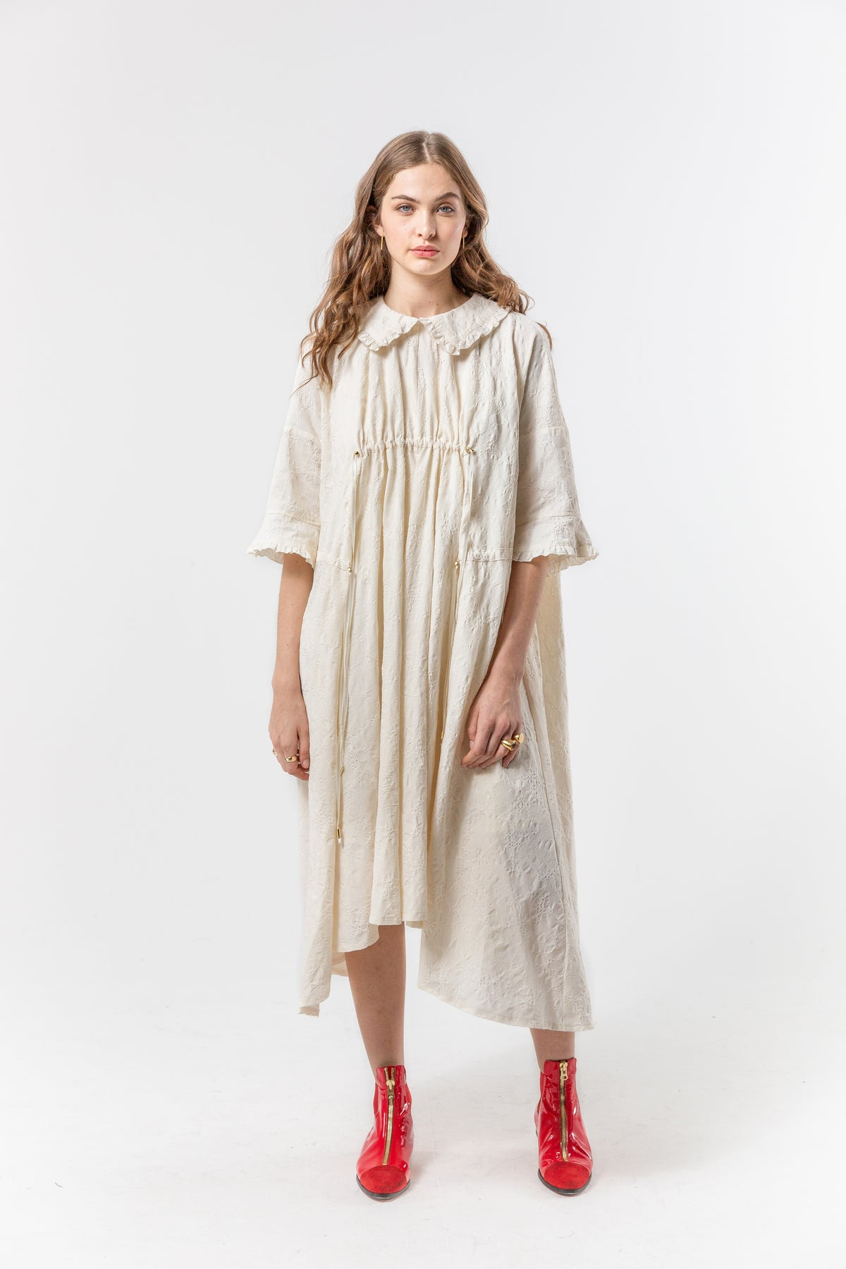 Scarlett dress in ancient cotton