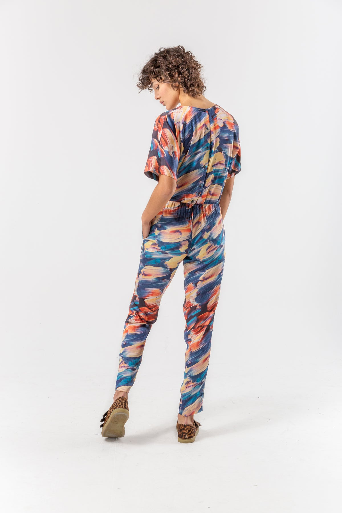 Melchior pants in ivresse print