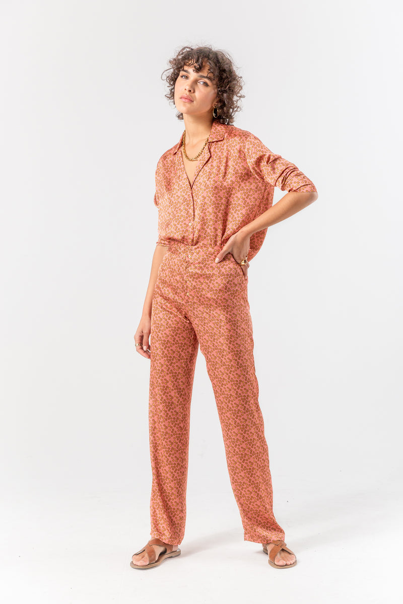 Ulysse pyjama in messy dots print