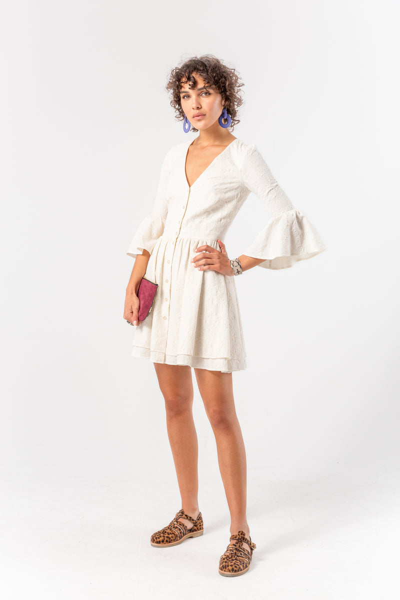 Robe Goliath en coton ancien