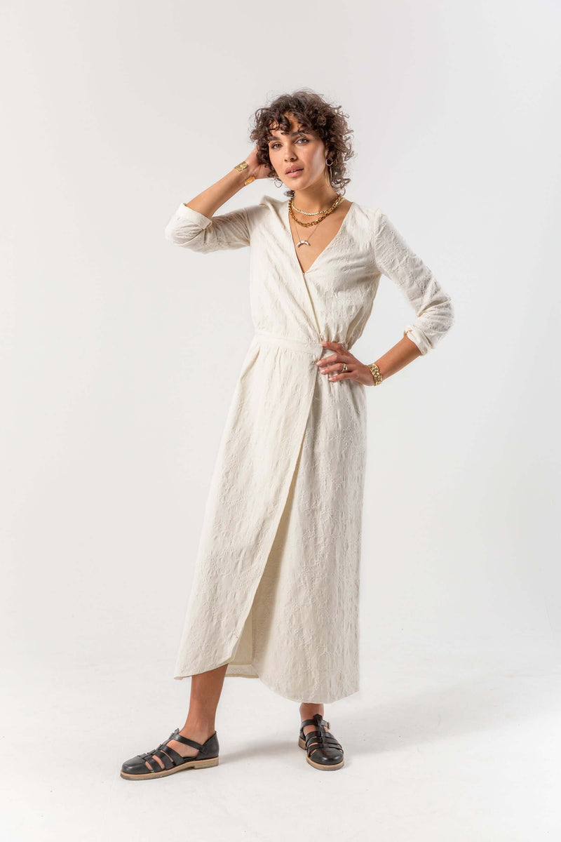Austria dress in ancient cotton