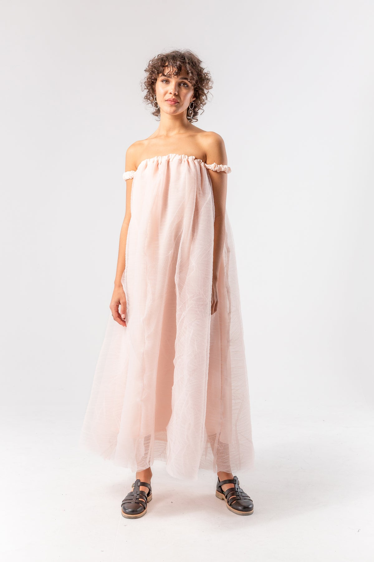 Penelope dress in cotton candy tulle