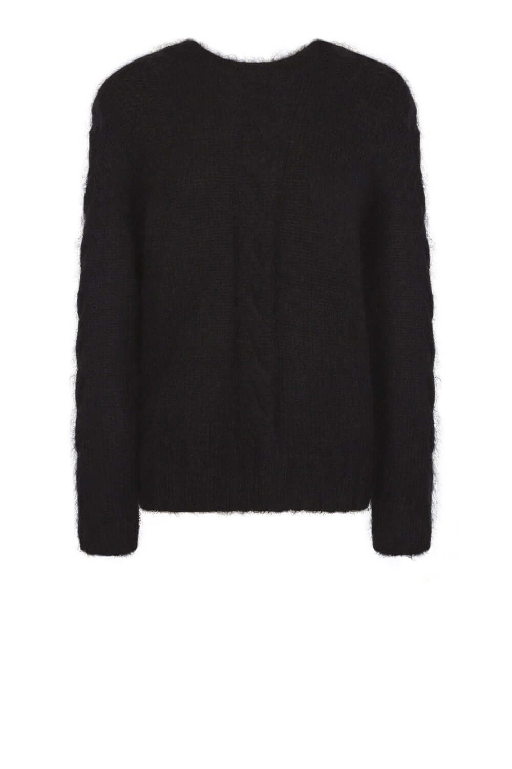 Ellis sweater in black knit