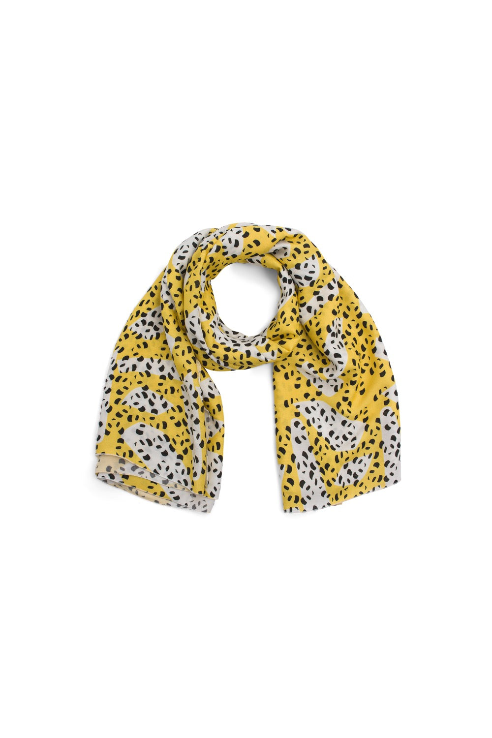 Scarf carré in panda print