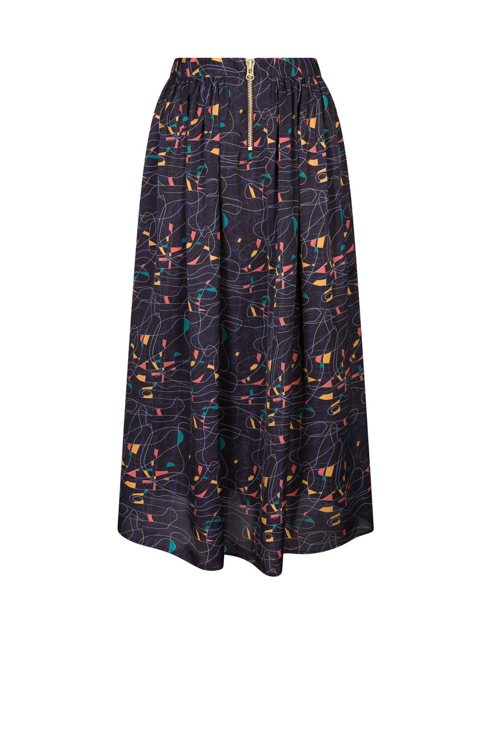 Orso skirt in reflections print