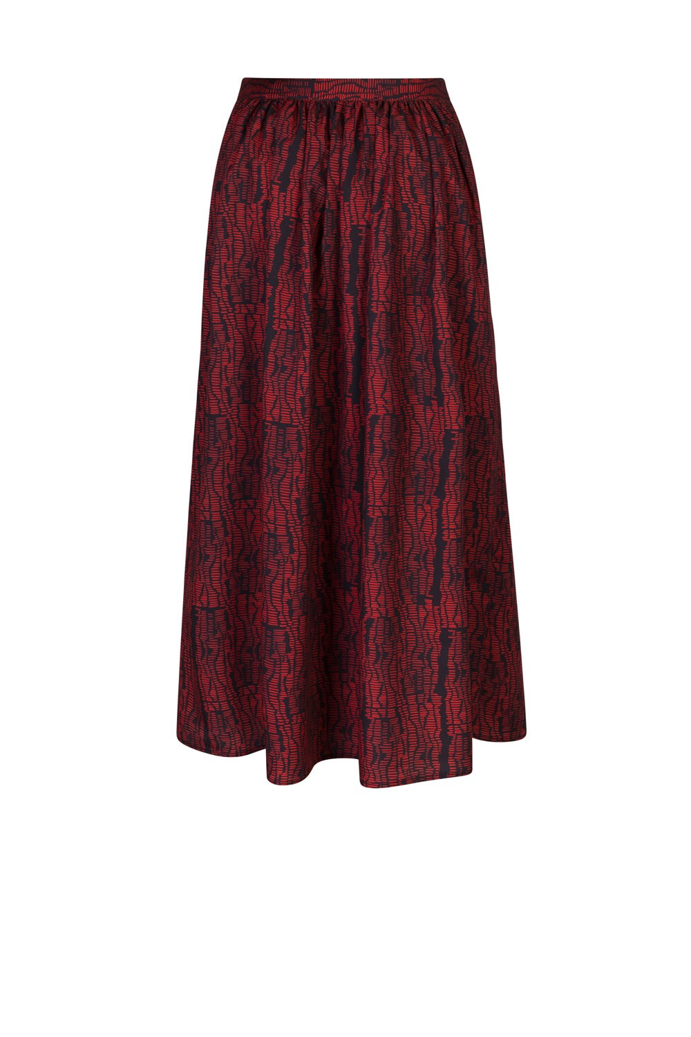 Orso skirt in strates print