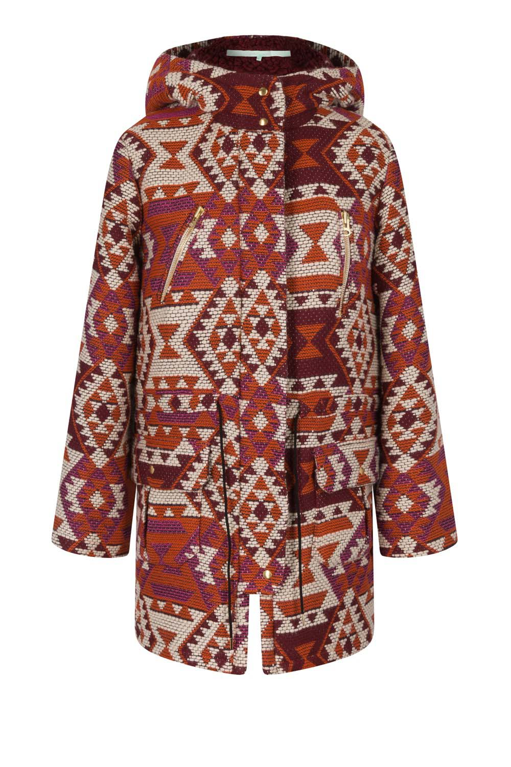 Jacobs parka in kilim fabric