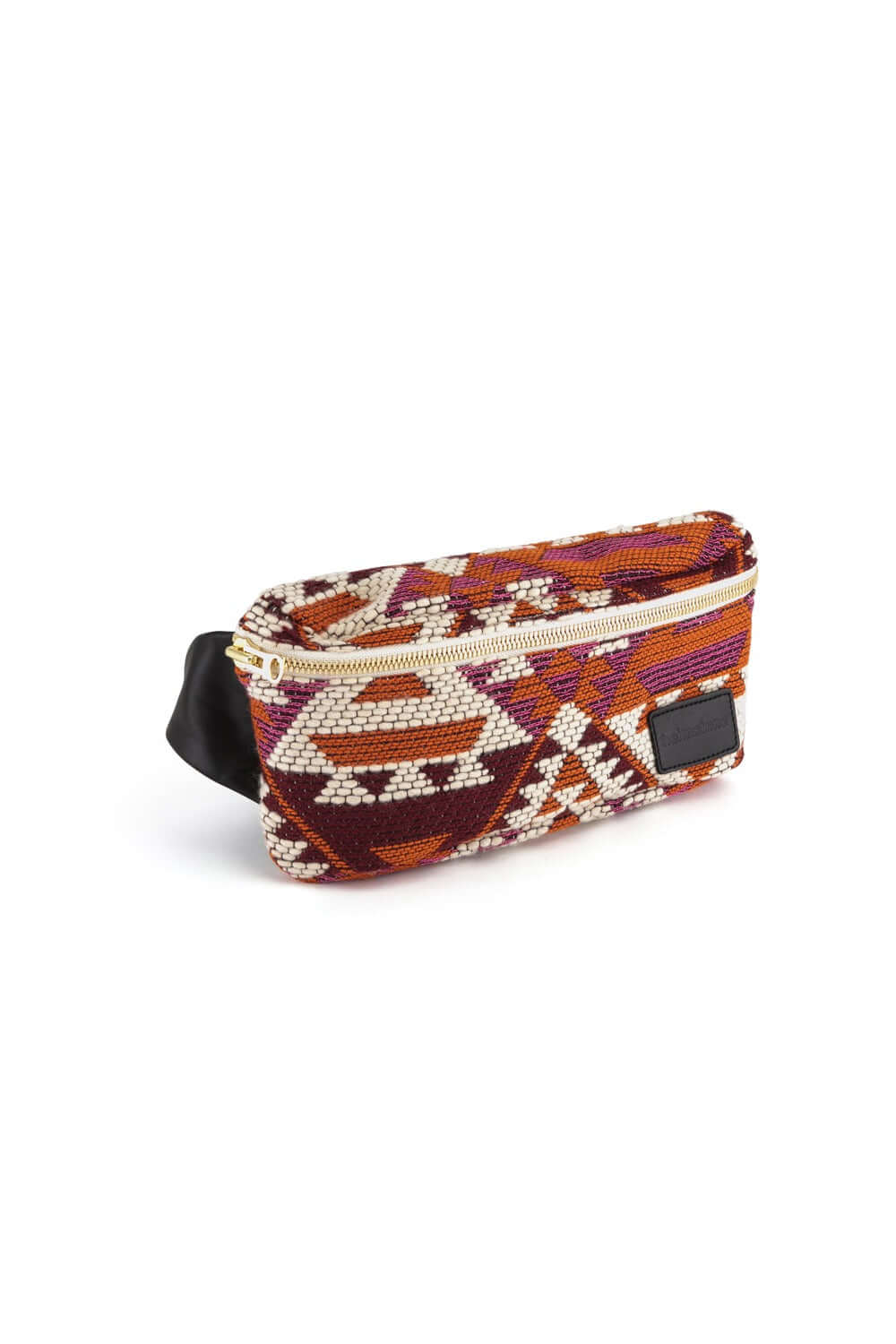 Fanny pack in kilim fabric
