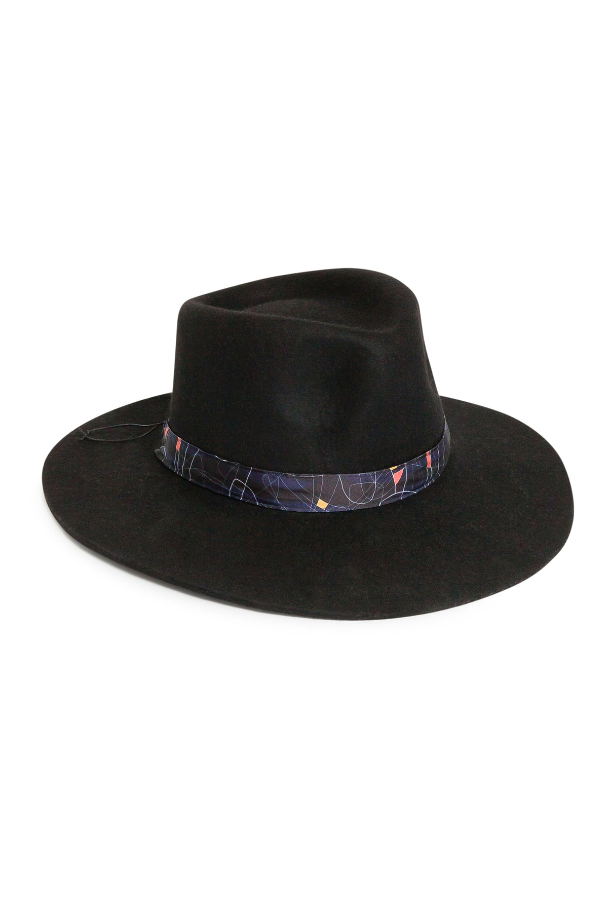 Heimstone x Fringe & Frange hat in reflections print