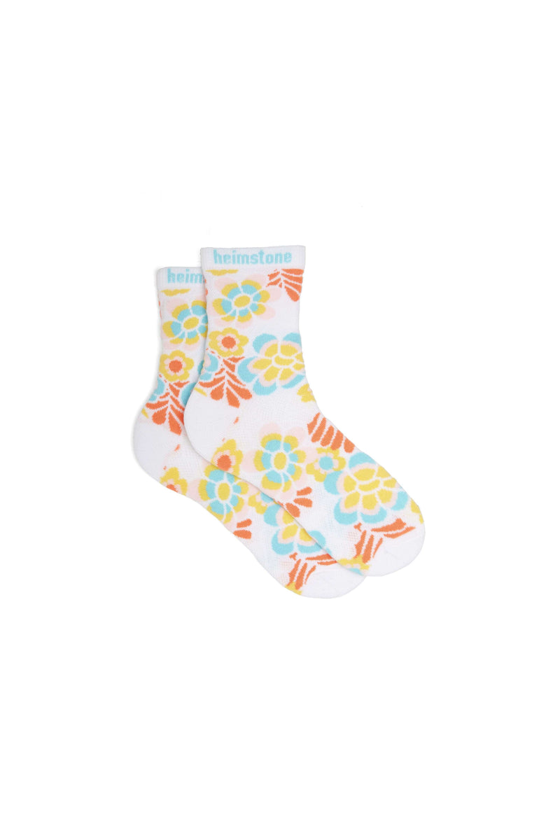 Ankle socks in Flower Power print