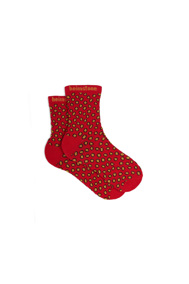 Ankle socks in Messy Dots print