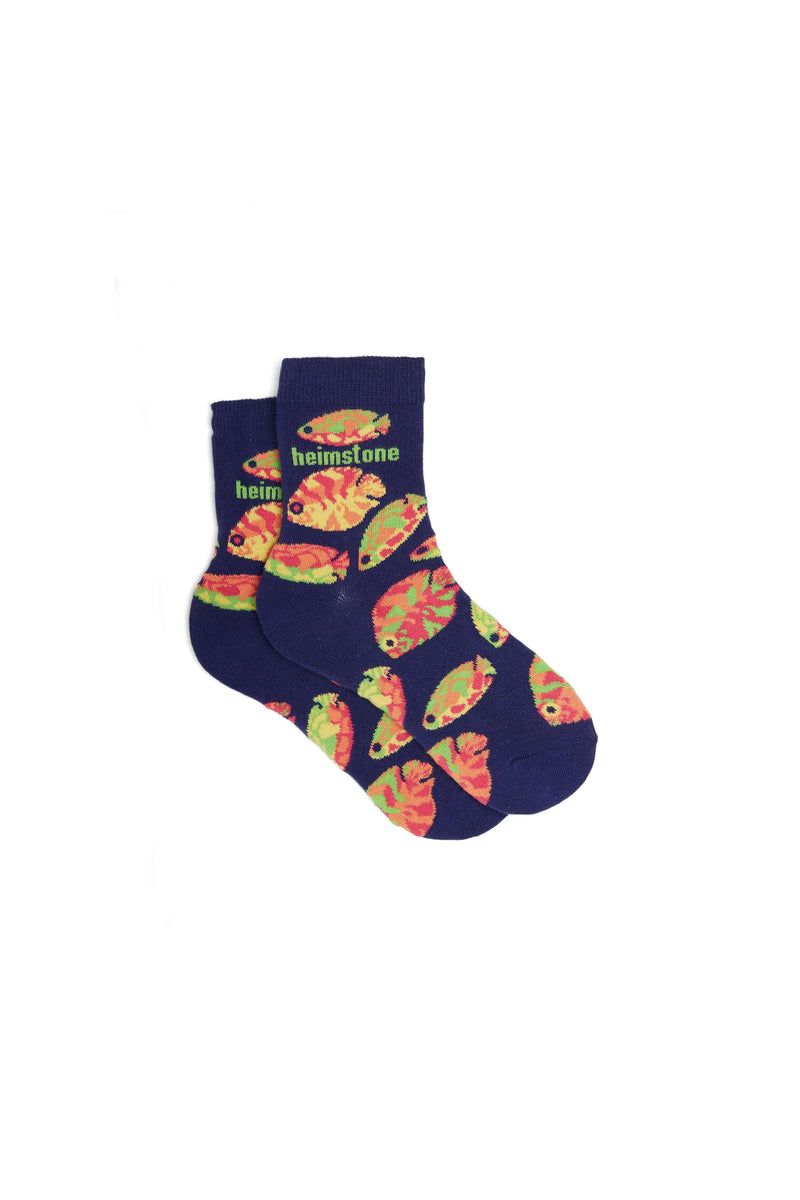 Ankle socks in Gourami print