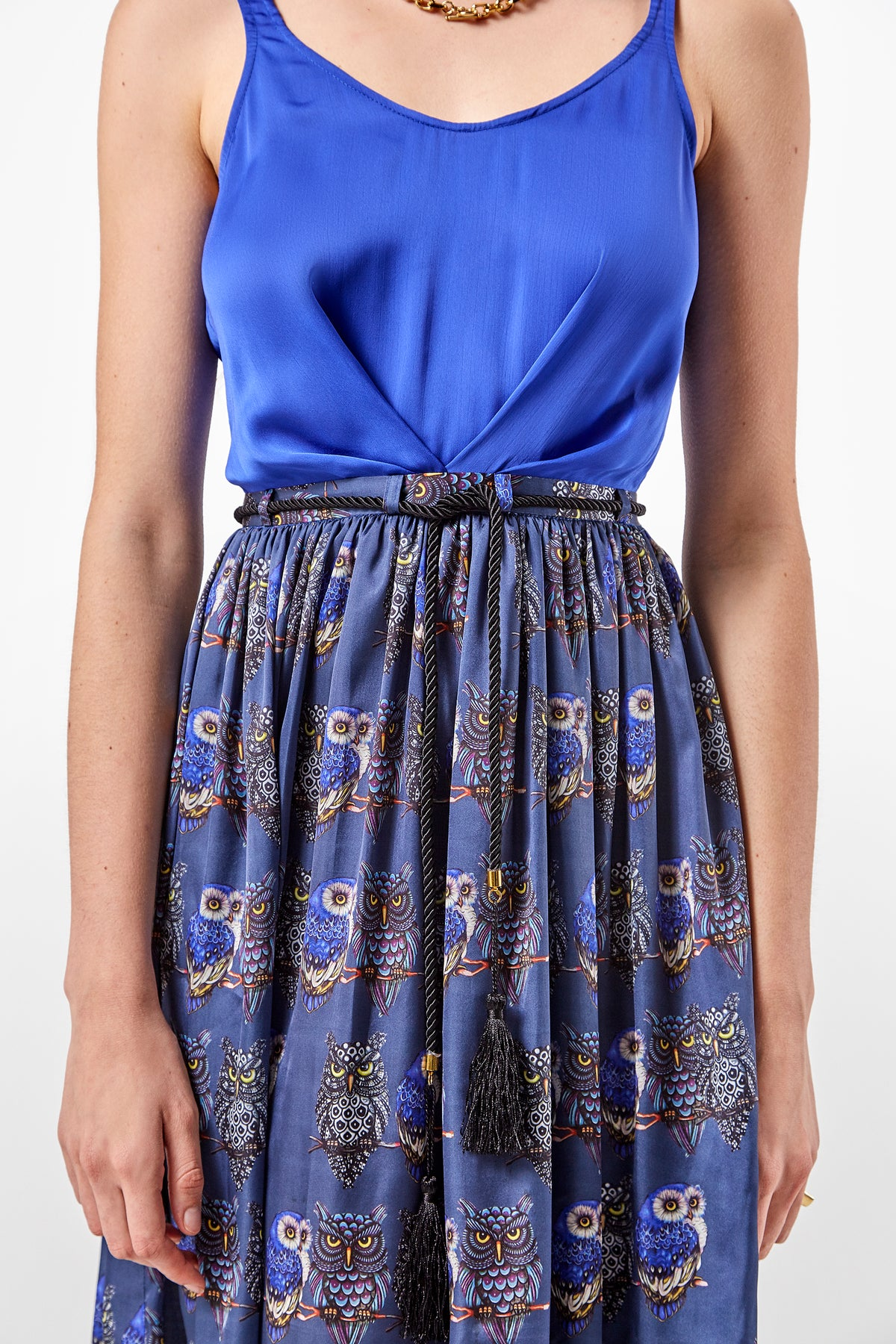 Orso dress in owl print