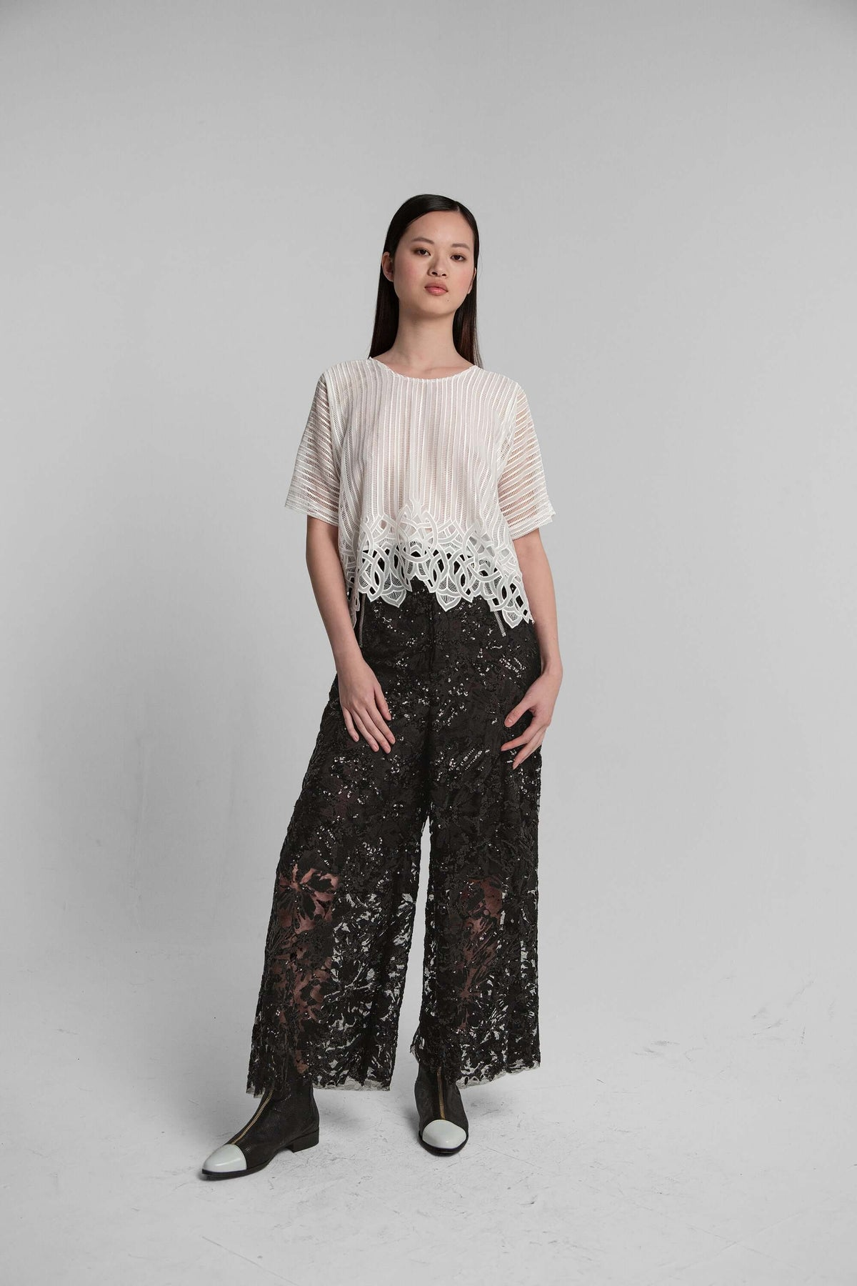 Doll pants in Ermes lace