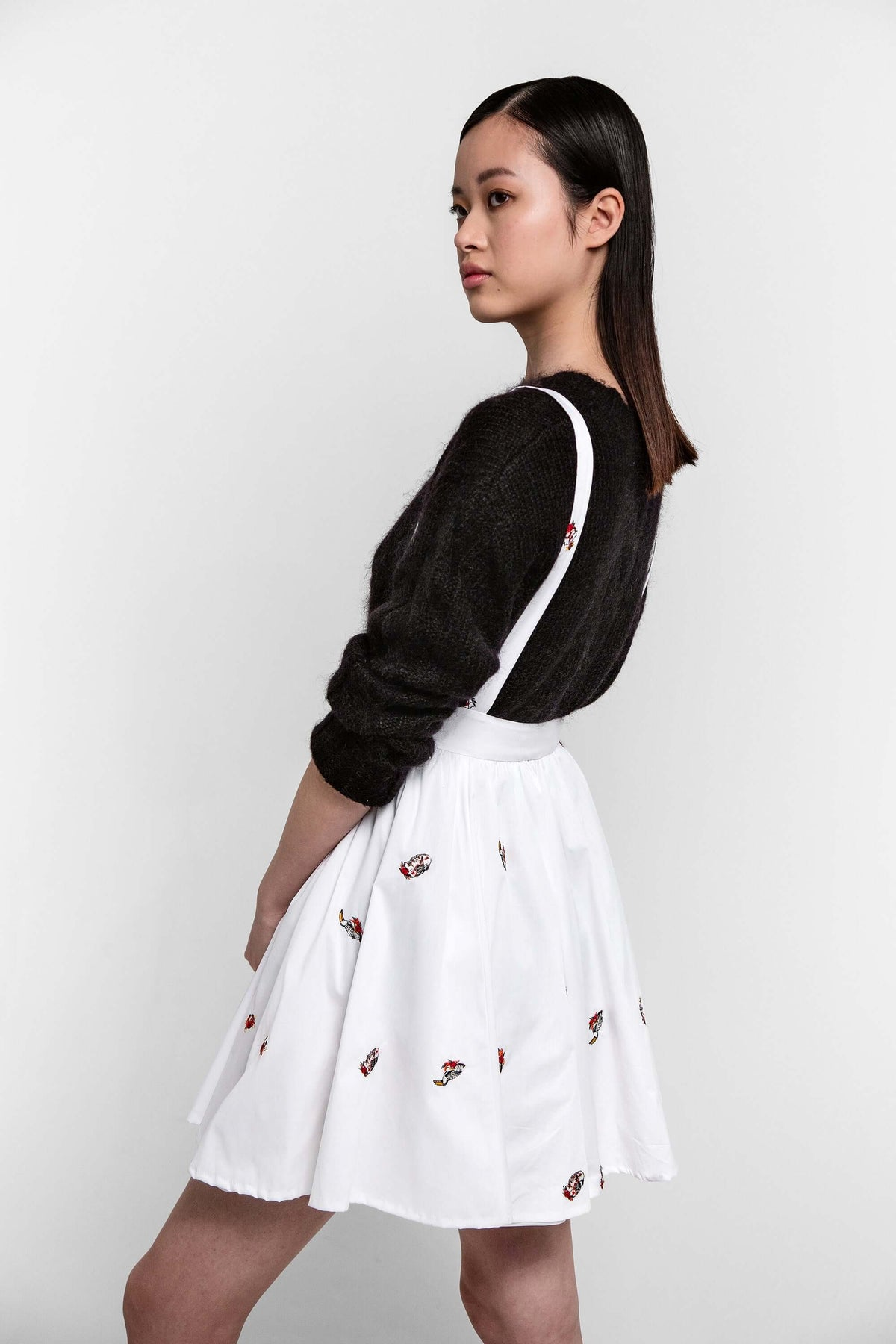 Decatur skirt in pirate embroideries